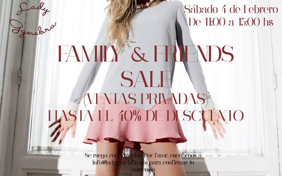 Family&Friends Sales en Lady Gynebra