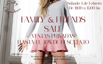 Family&Friends Sales en Lady Gynebra